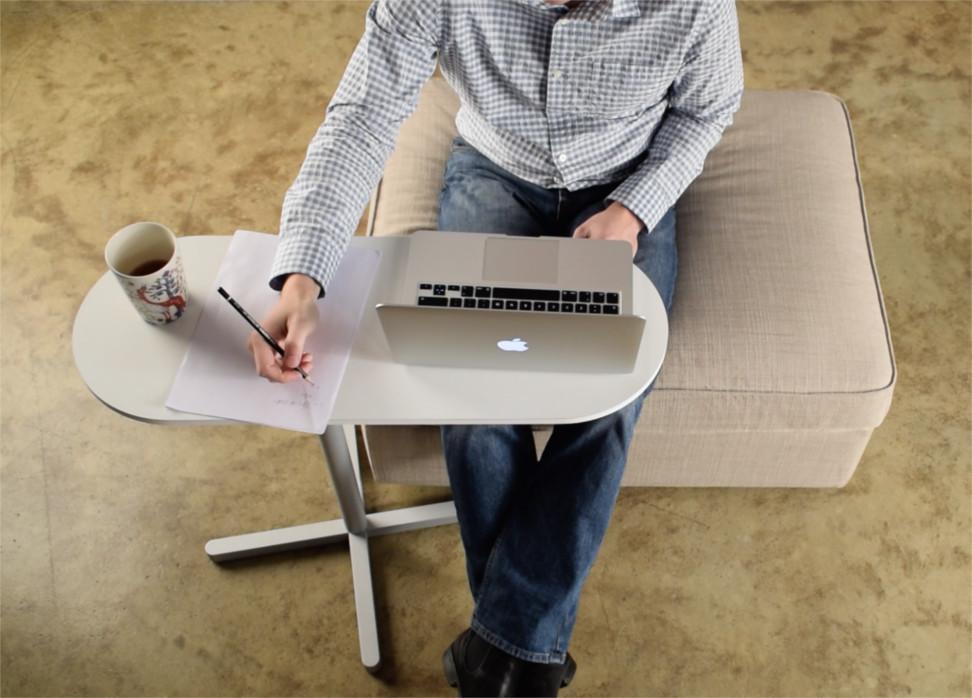 swivel laptop table